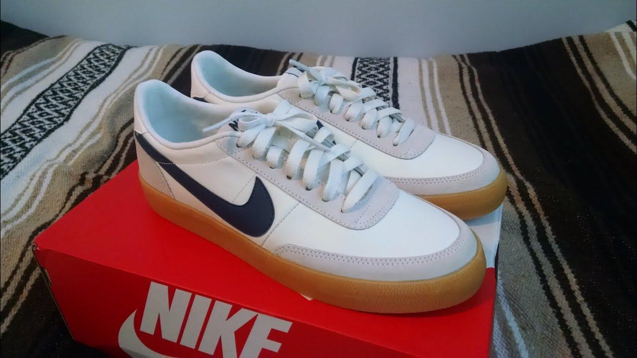 sports shoes 88430 85ad6 Nike for Jcrew Killshot 2 Sneaker Review White Leather Gum Sole
