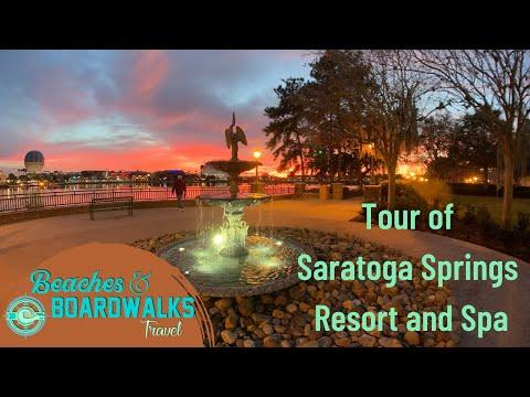 Tour of Spacious, Beautiful, Disney's Saratoga Springs Resort & Spa near the Disney Springs® Area