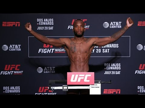 UFC San Antonio: Official Weigh-in