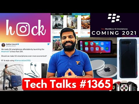 Tech Talks #1365 - Realme Cheapest 5G Phone, Instagram Hack, Games Sale, BlackBerry 5G, A12, ROG 5