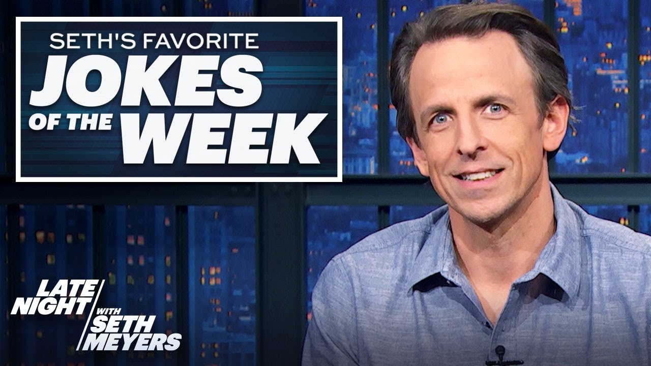 Seth's Favorite Jokes of the Week: Trump Impeached Again, Banned from Twitter