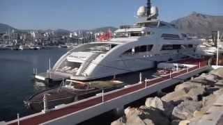 65m Super yacht GALACTICA STAR, great new design, Nigerian yacht owner