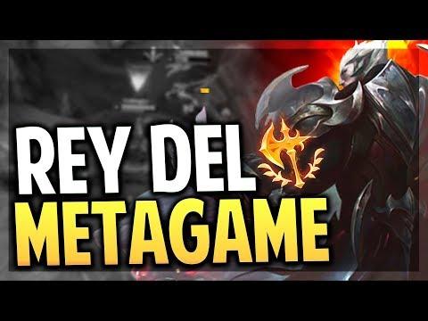 ¡EL REY DEL METAGAME!   DARIUS JUNGLA   Skin God-King   League of Legends