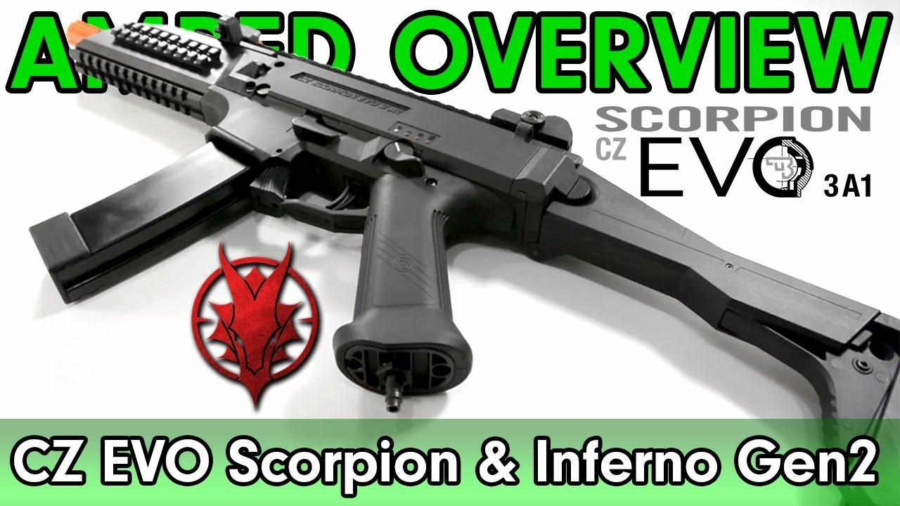 Amped Overview Asg Scorpion Evo Powered By Wolverine Inferno Gen