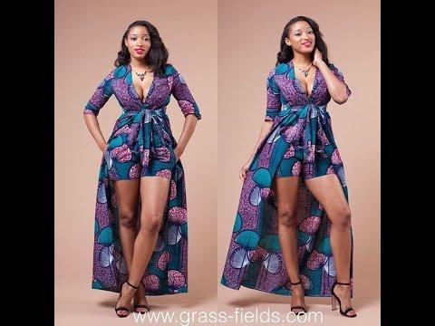 Ankara Aso Ebi Gown Styles