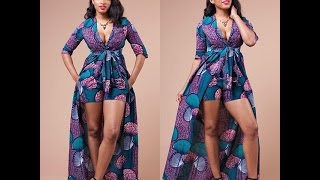 LATEST AFRICAN-NIGERIAN WOMEN SHORT ANKARA, ASO EBI GOWN STYLES FOR OCCASIONS AND WEDDINGS