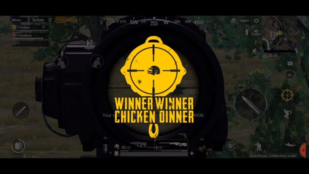 How to become 'chicken winner dinner' team when player playing after 2 years - Part 5