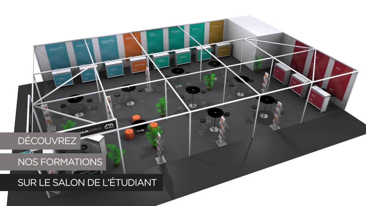 Salon de l 39 tudiant 2017 youtube for Salon etudiant 2017 paris