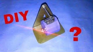 Лазерный уровень своими руками: способ изготовления (видео)