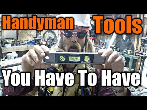 Handyman Tools Everyone Needs To Own | THE HANDYMAN |
