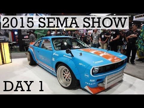2015 SEMA Show Coverage - Day 1