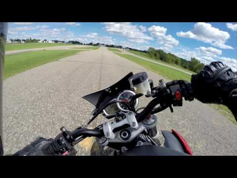 Street Triple R track day - DCTC (Dakota County Technical College)