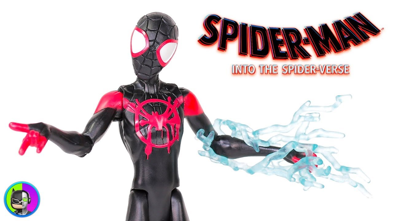 "Spider-Man Into the Spider-Verse ~ 12/"" MILES MORALES ACTION FIGURE"