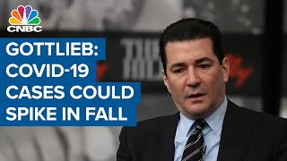 Gottlieb: Could see coronavirus cases grow dramatically in the fall