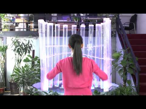 Kinect Interactive Fountain