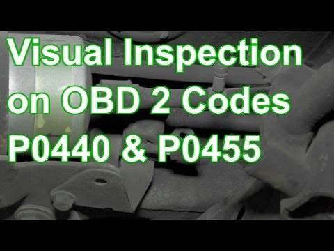 How To Diagnose Codes P0440 Or P0455 Using Visual