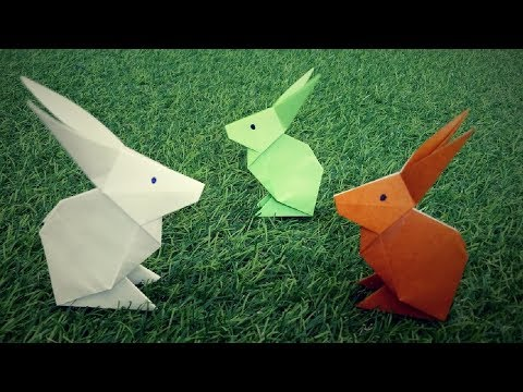 How To Make A Paper Rabbit | Easy Origami Rabbit | How To Make An Origami Rabbit