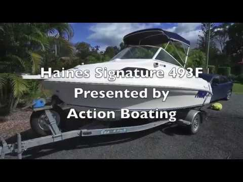 Haines Signature 493F for sale, Action Boating, boat sales, Gold Coast, Queensland, Australia