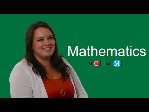 What Can You Do With a Major In - Mathematics