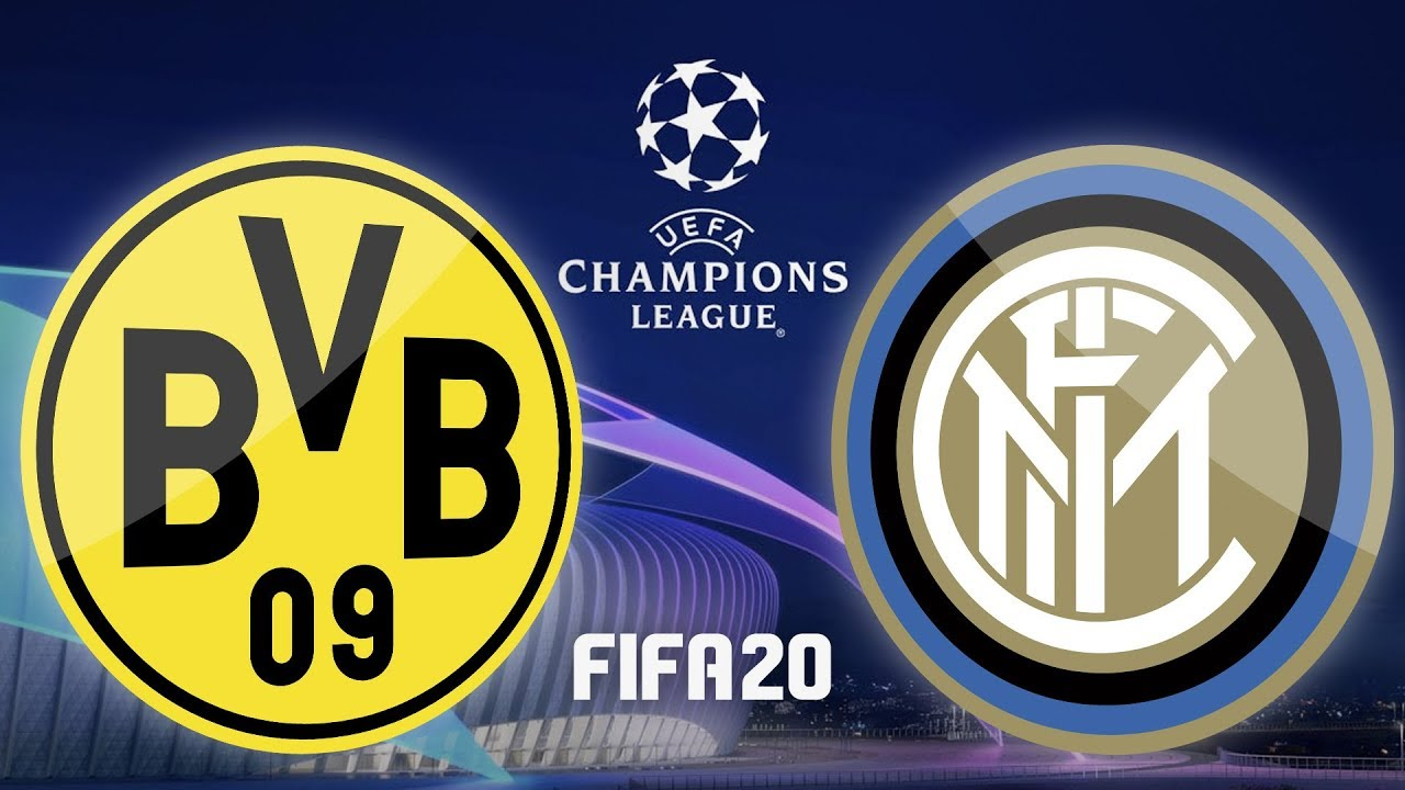 Uefa Champions League Borussia Dortmund Inter Mailand Fifa 20 Ucl Highlights Bvb Inter Youtube