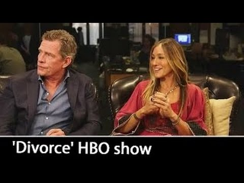 'Divorce' HBO : Sarah Jessica Parker & Thomas Haden Church   October 2016