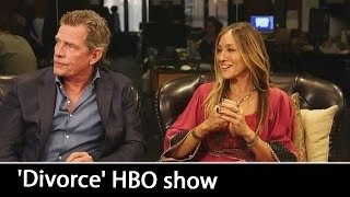 'Divorce' HBO show: Sarah Jessica Parker & Thomas Haden Church Interview | October 2016