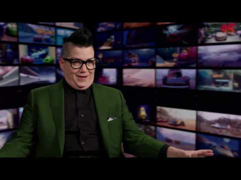 "Cars 3: Lea DeLaria ""Miss Fritter"" Behind the Scenes Movie Interview"