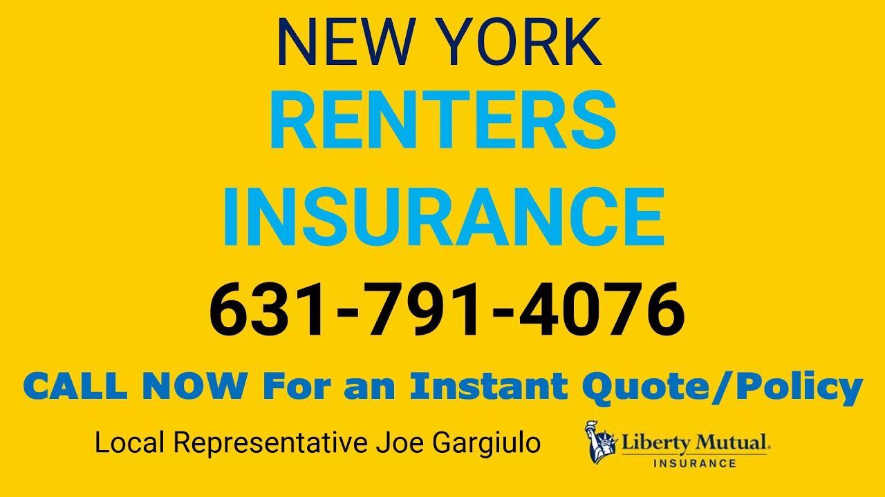 New York Renters Insurance 631-791-4076 - YouTube