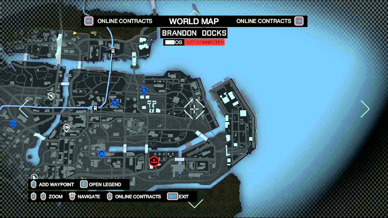 Watch Dogs Pc Ultra Settings Chicago Map Overview Youtube
