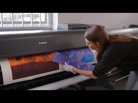 Comprehensive Services For Fine Artists | Orms Print Room And Framing