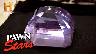 Pawn Stars: RARE GEM WORTH BIG MONEY (Season 8) | History