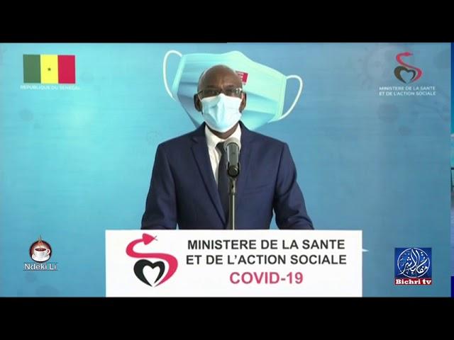 """Le point de situation du """"Coronavirus"""" au Sénégal jeudi 13 août"""