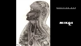 GRAPHITE DRAWING. THE MODIFIED MAN ARTWORK. LONGER VERSION- SPED UP DRAWING FOOTAGE BY MIKOS