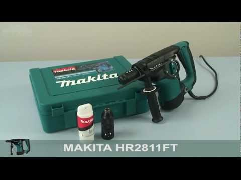 Makita HR2811FT Hammer Drill - w444w ENG