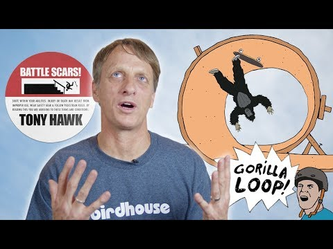 The Worst Injuries Of Tony Hawk's Career | Battle Scars