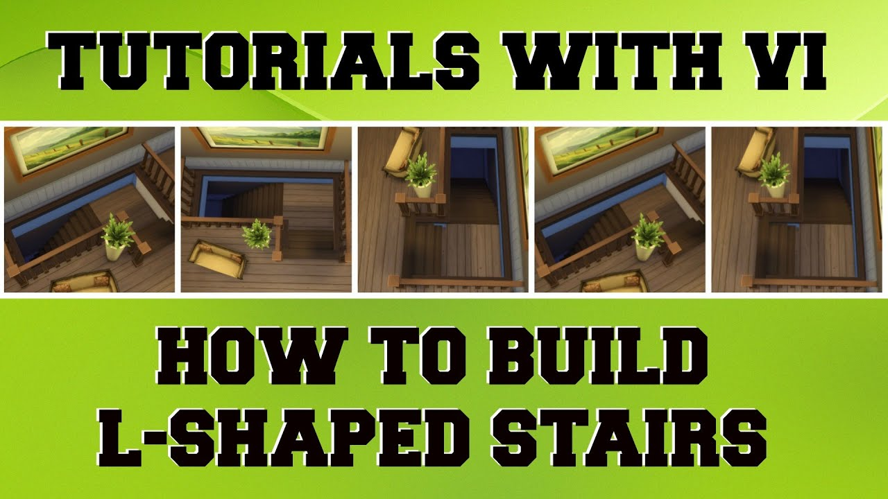 Tutorials With Vi How To Make L Shaped Stairs