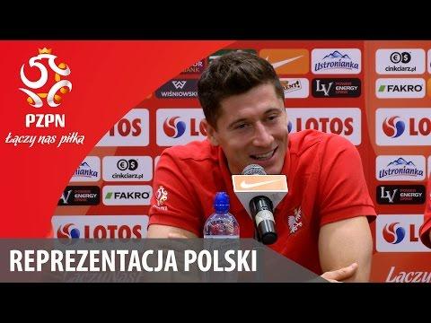 Konferencja reprezentacji Polski przed meczem ze Szkocją (06.10.2015)