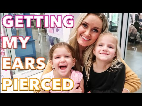 GETTING MY EARS PIERCED AT CLAIRE'S FOR THE FIRST TIME 👂PIERCING BOTH OF MY EARS AT THE SAME TIME 😃 from YouTube · Duration:  12 minutes 16 seconds