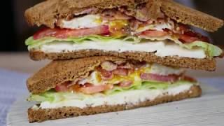 Клаб сэндвич с беконом