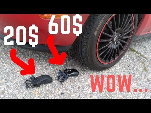 Crushing Crunchy & Soft Things by Car - Satisfying videos! CHEAP  VS EXPENSIVE MOUSE