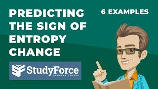 ⚗️ Predicting the Sİgn of Entropy Change