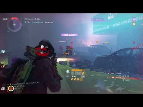 Xim4 player PlayStation®4* The Division Darkzone PVP with friends [Tiger Running style]