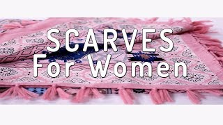 REXGXGRED Scarves For Women - best scarf review