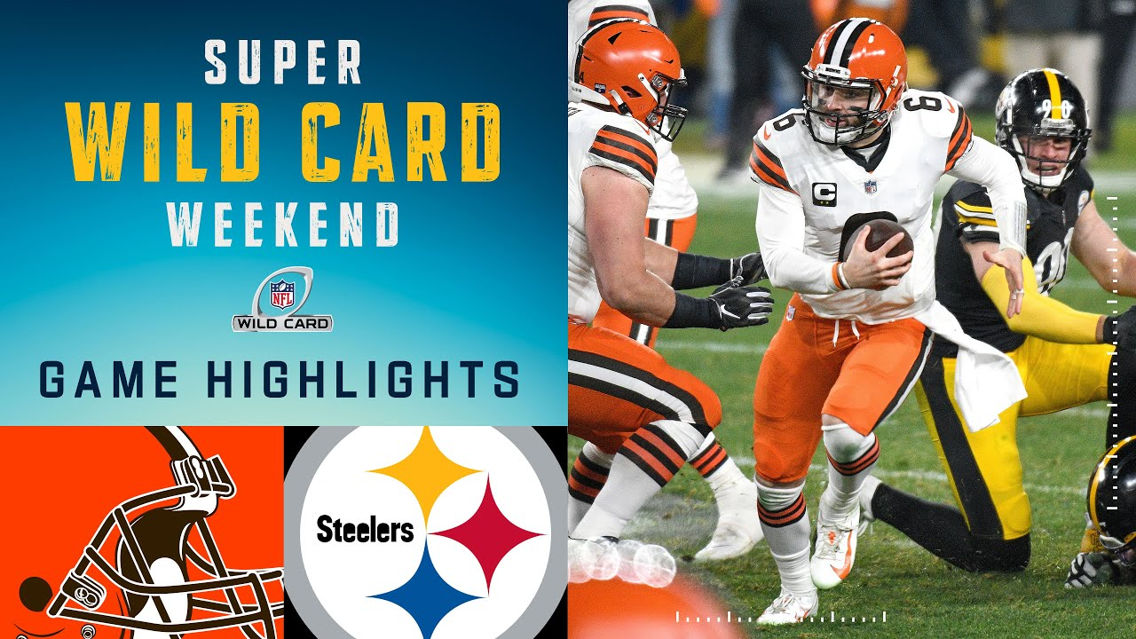 Browns vs. Steelers Super Wild Card Weekend Highlights | NFL 2020 Playoffs