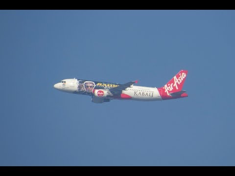 "AirAsia India VT-APJ Airbus A320-216 ""Kabali"" Special livery"