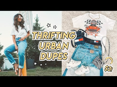 THRIFTING URBAN OUTFITTERS DUPES FOR SUMMER ☆