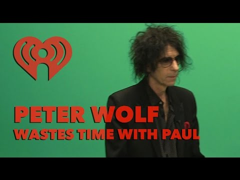 """Peter Wolf """"Wastin' Time"""" w/ Paul 