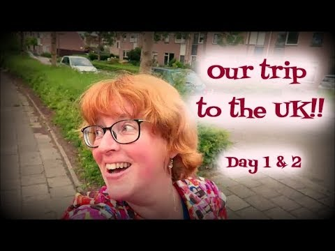 Our trip to the UK!! Day 1&2!