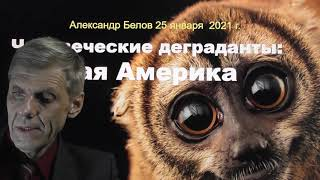Южноамериканские деграданты - бывшие люди. Александр Белов 25 01 2021