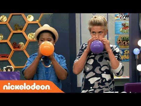 Benji vs. Thomas in the Balloon Challenge🎈 | Game Shakers | Nick